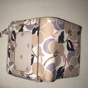 NWOT Kate spade floral wallet